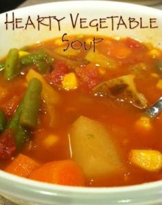 Hearty Veggie Soup